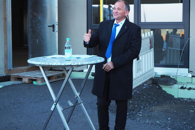 Richtfest bei der IPR GmbH im Technologiepark Eppingen