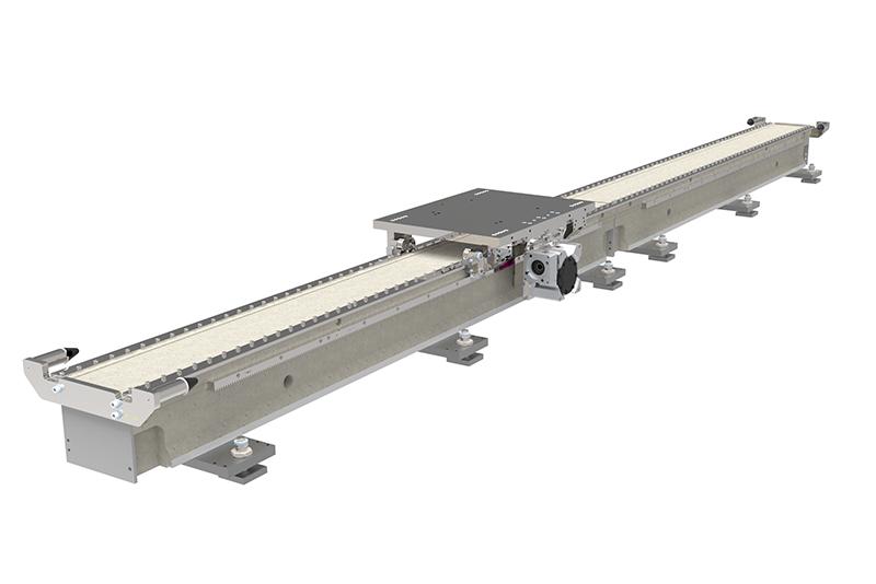 Verbundbeton-Fahrachse: 95 Prozent aller Industrieroboter eignen sich für erweiterte RC-Serie