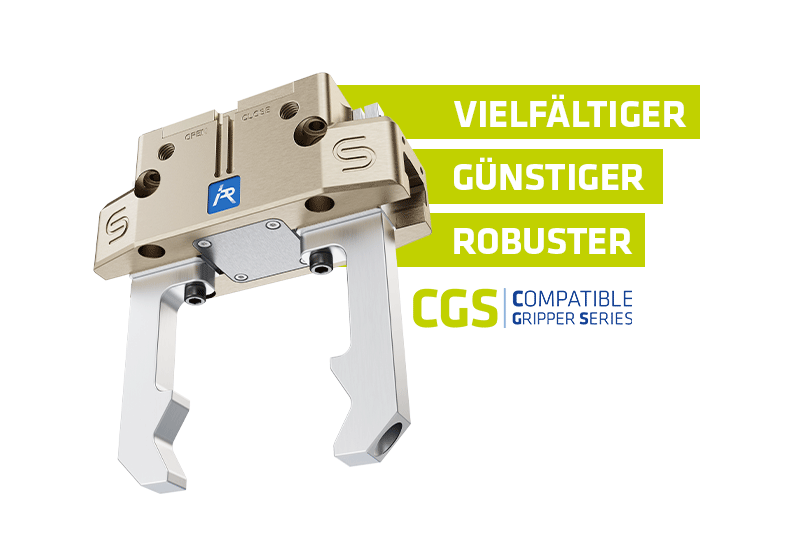 CGS – Unser Universal-Parallelgreifer für jede Anwendung