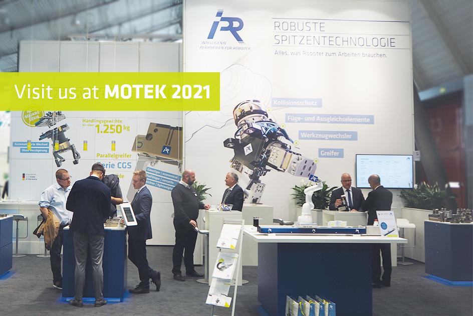 Motek 2021: Smart solutions for your robot