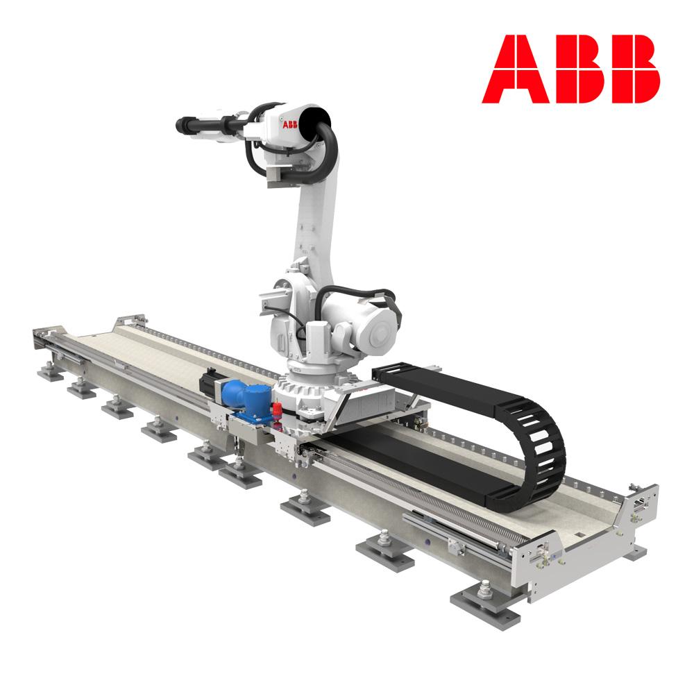 Fahrachsen für ABB-Roboter